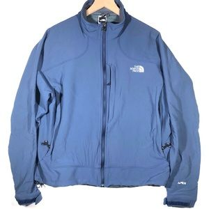 North Face APEX Jacket Size XL Color Blue